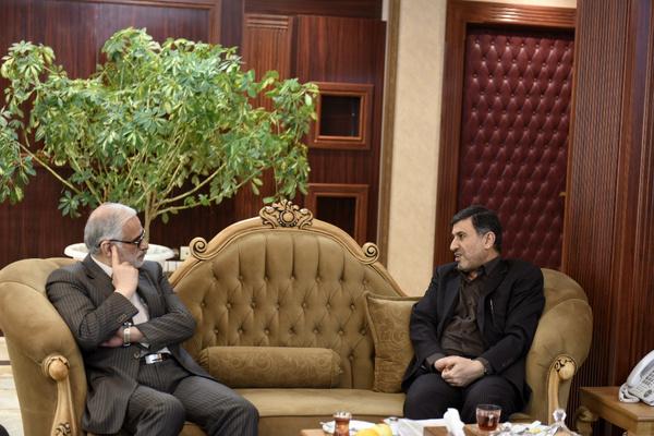 رئیس دفتر جانشین فرماندهی کل قوا در امور ناجا با استاندار البرز دیدار کرد
