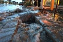 43 مورد آب افتادگی در کلانشهر مشهد رخ داد
