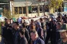 پیکر امام جمعه فقید بانه در زادگاهش به خاک سپرده شد