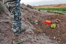 11 حفار غیر مجاز در محوطه تاریخی شهر کاخک گناباد دستگیر شدند