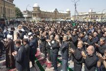 نماز ظهر عاشورا در همدان اقامه شد