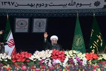 روحانی: حضور پر معنا و آگاهانه مردم، وظیفه مسئولان کشور را در تلاش پیگیر برای خدمت به مردم و کشور مضاعف کرد/ مردم غیرتمند ثابت کردند در هیچ شرایطی بر سر استقلال و عزت و سربلندی خود معامله نخواهند کرد