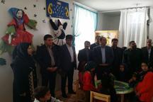 بخش کودک کتابخانه عمومی امام حسین (ع) هرات افتتاح شد