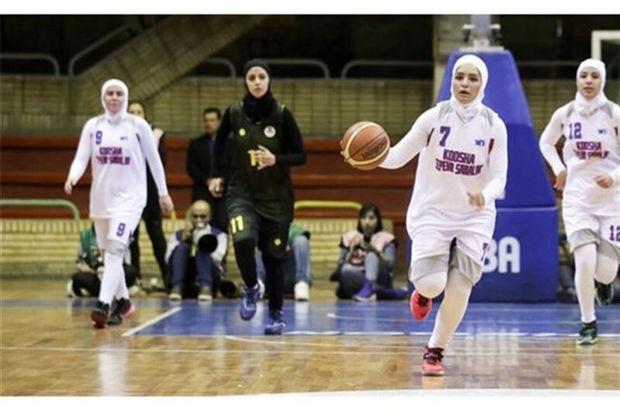 تیم بسکتبال بانوان فارس در پی نخستین پیروزی در لیگ برتر کشور است