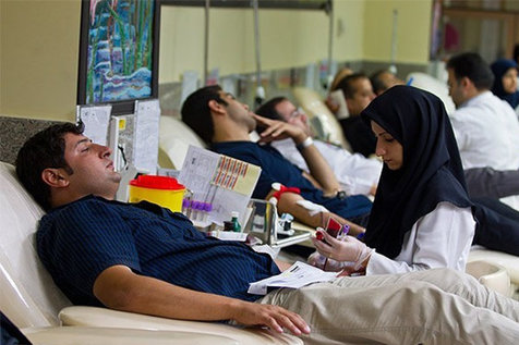 سطح سلامت خونهای اهدایی ایرانیان؛ زبانزد اروپاییان