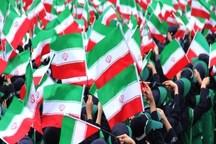 حضور با صلابت در راهپیمایی 22 بهمن