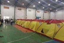 قطع عمدی برق اردوگاه سیل زدگان هادی آباد شهر کارون صحت ندارد