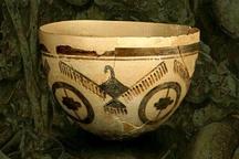 نمایش اشیای تاریخی گورستان چگاسفلی در موزه ملی ایران