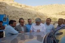 بازدید معاون وزیر راه از آزادراه لامرد-پارسیان و تونل گردنه شهید باقری