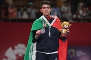 امیرمحمد بخشی مدال طلا را بر گردن آویخت/ ملیکا میرحسینی صاحب برنز شد