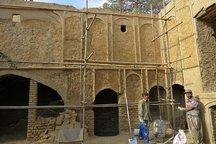 مرمت کاروانسرای 'میرزا صیدرضا' در خرمآباد آغاز شد