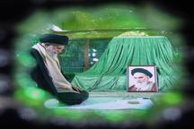 پست اینستاگرامی صفحه رهبر معظم انقلاب همزمان با ساعت ارتحال امام خمینی