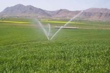 تجهیز 1500 هکتار اراضی کشاورزی اردل به سیستم آبیاری نوین در دولت یازدهم