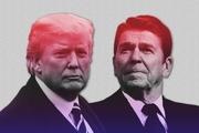 افسانه ریگان میهن پرست و ترامپ نژادپرست