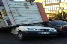 تصادف زنجیره ای در اسدآباد 9 مجروح بر جا گذاشت