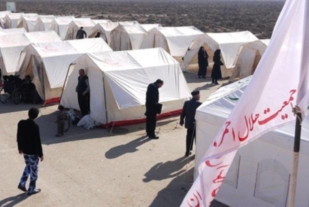95 خانوار روستای لشکران مهرستان به جای امن منتقل شدند