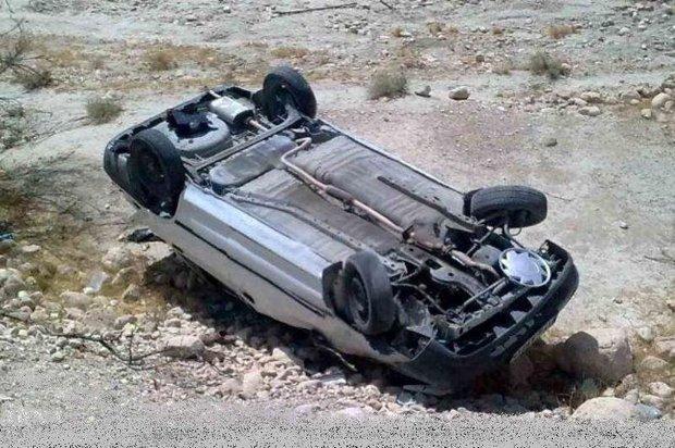 واژگونی خودرو حامل اتباع بیگانه در رفسنجان