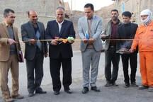 25 طرح عمرانی و خدماتی در بخش قهستان افتتاح شد