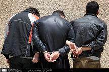 کشف 103 فقره سرقت از یک باند در کرمانشاه