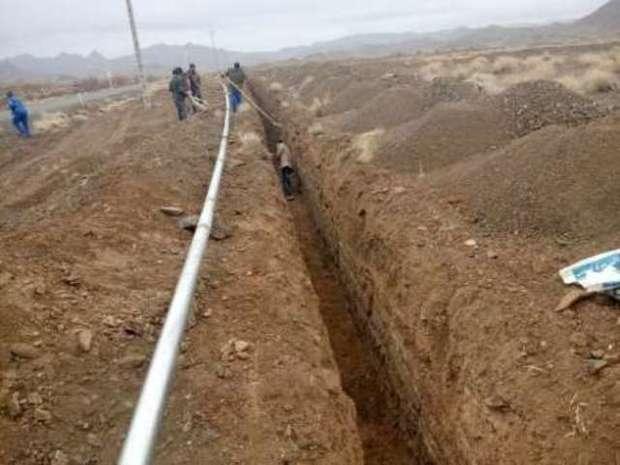 38 درصد آب در شبکه های آبرسانی روستایی قاینات هدر می رود