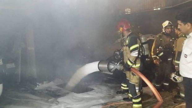 انفجار کپسول گاز سه نفر را در کوثر راهی بیمارستان کرد