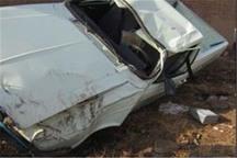 واژگونی وانت پیکان در تاکستان یک کشته برجای گذاشت