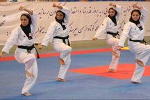 حضور تکواندو کار گلستان در اردوی تیم ملی دختران دانشجو