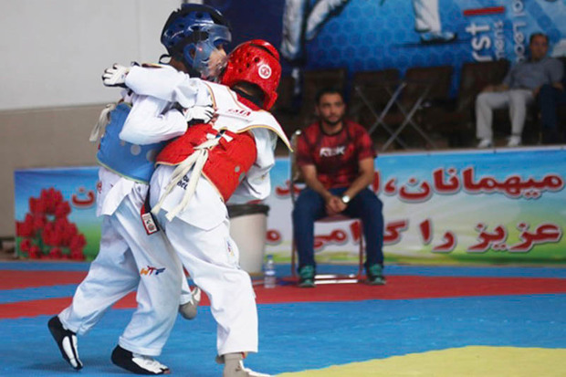 امید تیم ارومیه برای صعود به مرحله نهایی لیگ تکواندو کشور