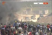 شهادت 10 فلسطینی و جلوگیری آمریکا از صدور بیانیه علیه اسرائیل در شورای امنیت/ نگرانی سازمان ملل/ممنوعیت ورود لاستیک به نوار غزه توسط اشغالگران
