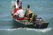 هلال احمر گناوه چهار مصدوم دریازدگی را نجات داد