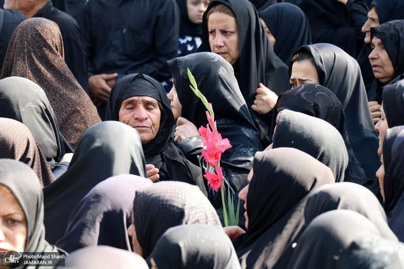 تشییع پیکر سرباز شهید مجید شیری پز در خمین