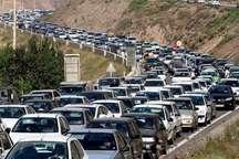 حجم ترافیک در راه های استان البرز سنگین است