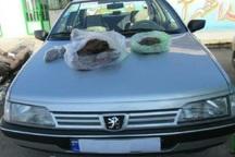 خودرو با 155 کیلوگرم تریاک در نهبندان توقیف شد