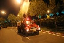 سمپاشی زمستانه درختان سطح شهر سنندج آغاز شد