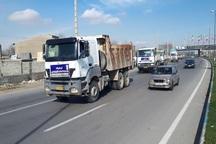 ماشین آلات بنیاد مسکن آذربایجان غربی راهی لرستان شد