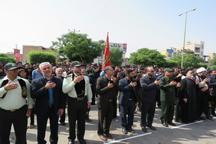 اجتماع عزاداران حسینی در گتوند