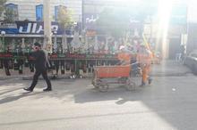 شهرداری کرج به عزاداران حسینی خدمات ارائه می کند