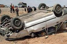 واژگونی خودرو در شرق سبزوار چهار مصدوم داشت