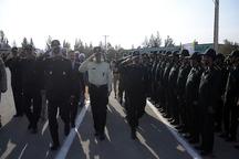 صبحگاه مشترک نیروهای مسلح در زاهدان برگزار شد