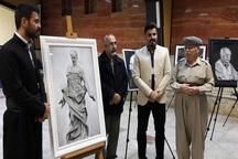 نمایشگاه نقاشی کاوان در مهاباد گشایش یافت