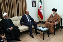 دیدار رئیس جمهوری عراق با رهبر معظم انقلاب