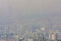 وضعیت هوای کلانشهر اراک در شرایط هشدار است