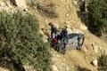 مرگ ۲ جنگلبان گیلانی بر اثر سقوط خودرو به دره در آستارا