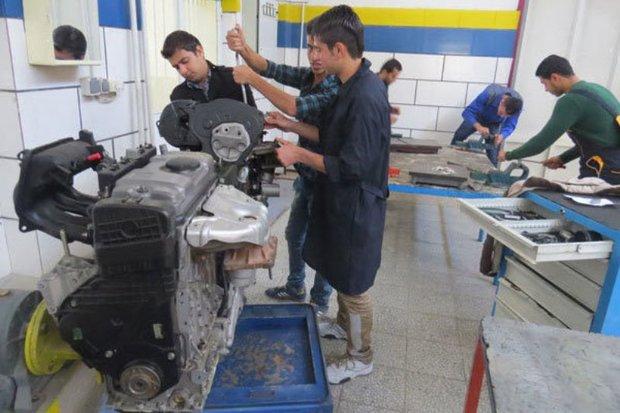 پنج هزار مددجوی کردستانی آموزش فنی و مهارتی فرا می گیرند