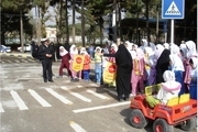 آموزش ترافیکی برای مهدهای کودک همدان برگزار شد