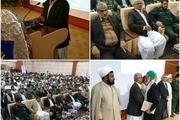 برگزاری یادواره 183 شهید شهرستان های ایرانشهر و دلگان