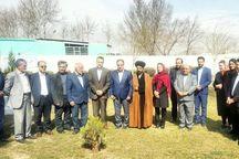 کاشت درخت در مجتمع سالمندان مادر شهرستان قدس