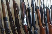 کشف 54 قبضه سلاح شکاری در گلستان