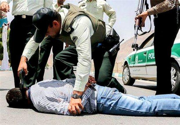 قاتل فراری در عملیات ضربتی پلیس خوزستان دستگیر شد