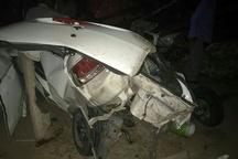 3 کشته در واژگونی و آتشسوزی خودروی پژو در محور سیرجان- کرمان
